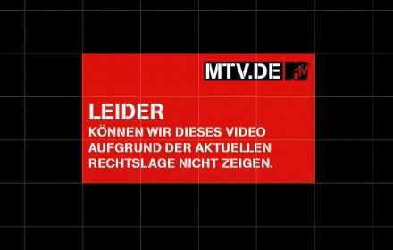 Musikindustrie vs. MTV: All Eyes On Inkompetenz.