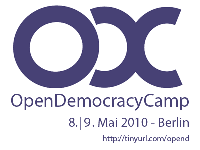 Logo Open Democracy Camp 2010
